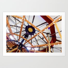 The Carousel of Happiness  Art Print