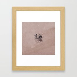 The Head and the Heart Framed Art Print