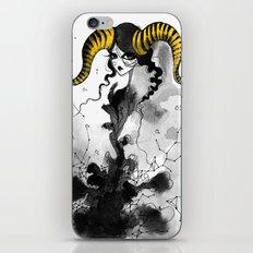 Horns, braids and stars iPhone & iPod Skin