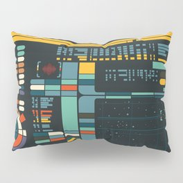 Control Interface Pillow Sham