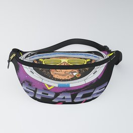Retro Space Monkey 80s Fanny Pack