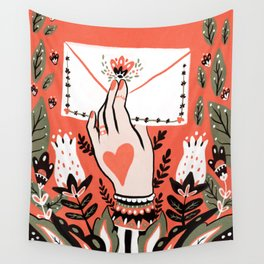 Love Letter Wall Tapestry