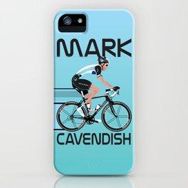 Mark Cavendish iPhone Case