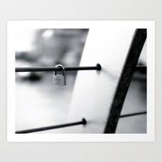 Love Locks 2012 04 Art Print