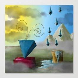 Hello Dali Canvas Print