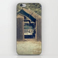 safe at home iPhone & iPod Skin
