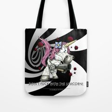 Don't f**k with the unicorn Tote Bag