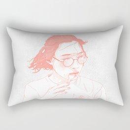 Eating Rectangular Pillow