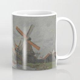 Windmills near Zaandam Coffee Mug