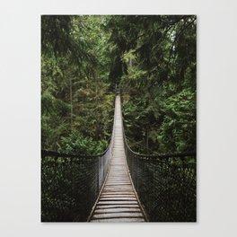 Lynn Canyon Bridge Canvas Print