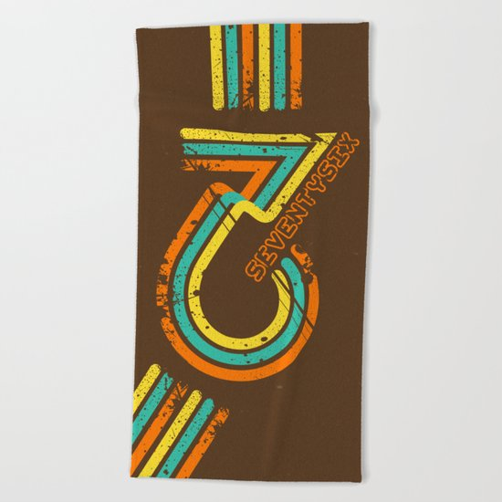 seventysix''76 Beach Towel
