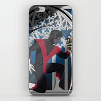 nightcrawler iPhone & iPod Skins featuring Wagner's Sword by Andrew Formosa