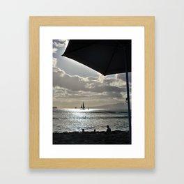 Heavens of Hawaii Framed Art Print