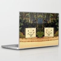 spongebob Laptop & iPad Skins featuring Spongebob container | urban photography by Patrick Jobst