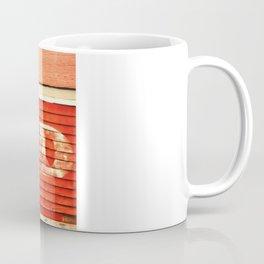 rustic feed sign Coffee Mug