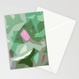 Abstract Camouflage Stationery Cards