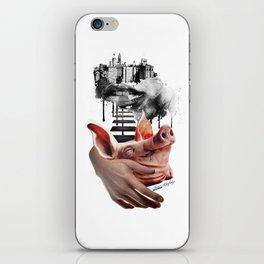 feel like a piggy today... iPhone Skin