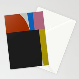 Mid Century Modern Vintage 12 Stationery Cards