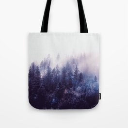 Misty Space Tote Bag