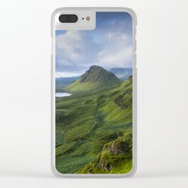 Up in the Clouds II Clear iPhone Case