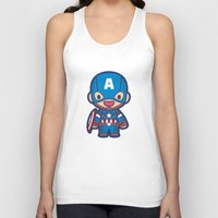 captain silva Tank Tops featuring Captain by Papyroo