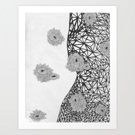 Sea of Bacteria  Art Print