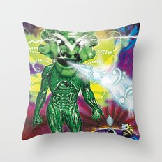 Poster El Mundo Throw Pillow