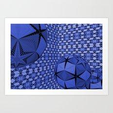 The Ball #1 Art Print