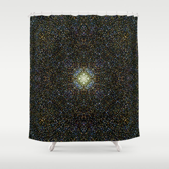 Spaced In Shower Curtain