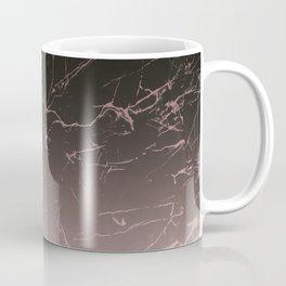 Black and Rose Marble Coffee Mug