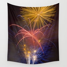 Fireworks Finale Wall Tapestry