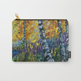 Colorado Landscape with a Palette Knife Carry-All Pouch