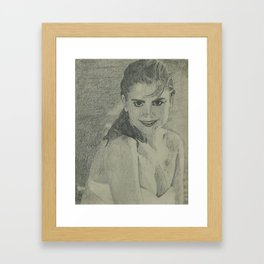 Kathy Ireland Framed Art Print