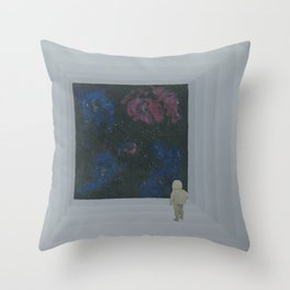 Empty Space 13 Throw Pillow