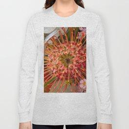 Pincushion Protea Long Sleeve T-shirt