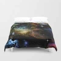 universe Duvet Covers featuring Universe by nicky2342