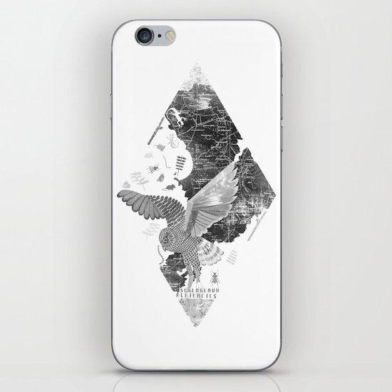 OWL MAP iPhone & iPod Skin