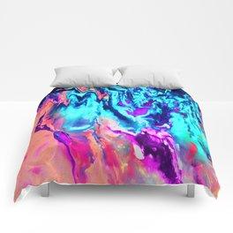 Abstract B Comforters