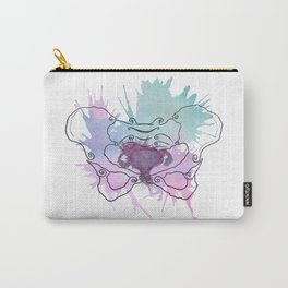 Uterus Splat Carry-All Pouch