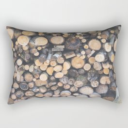 Stocked for Autumn Rectangular Pillow