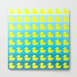 duck pattern Metal Print