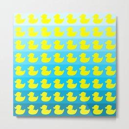 duck pattern Metal Print