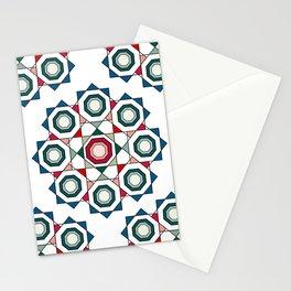 Tile mandala Stationery Cards