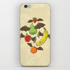Fruit Bats iPhone & iPod Skin