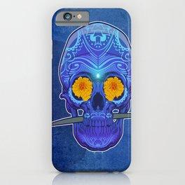 Sugar skull 3rd eye iPhone Case