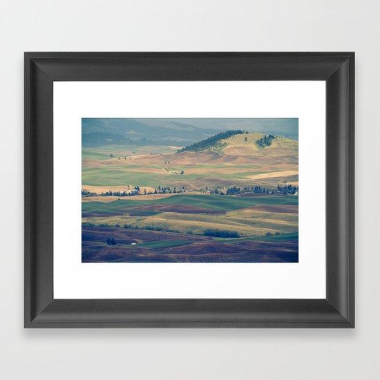 The Palouse Framed Art Print