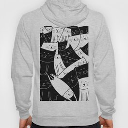The Cats are Watching - B/W Hoody