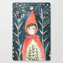 Little Red Cutting Board