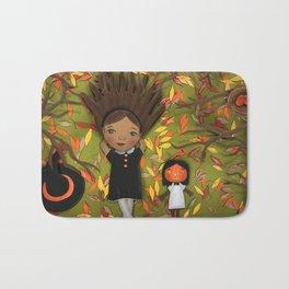 Little Fall Witch Bath Mat