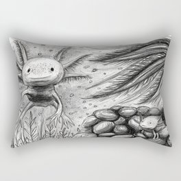 Axolotls Rectangular Pillow